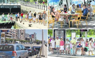 Santander en agosto de doce a dos