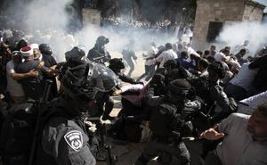 Incidentes en la Explanada de las Mezquitas de Jerusalén durante las fiestas judía y musulmana