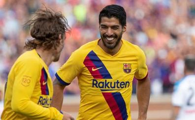 El Barcelona golea al Nápoles