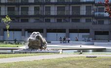 Los vecinos de Colindres ya disfrutan del remodelado Parque de La Charca