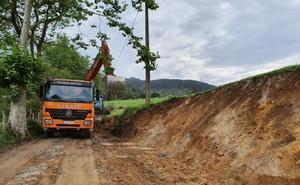 El vial de acceso a la Visita Minera de El Soplao se abrirá en un mes