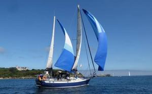 A bordo del velero Bon Temps