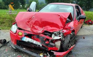 Investigados un joven por provocar un accidente en Selaya y su padre por ayudarle a abandonar el lugar