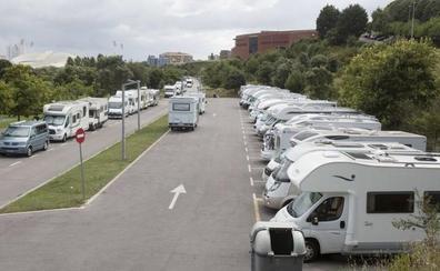 Saturación de autocaravanas en Santander