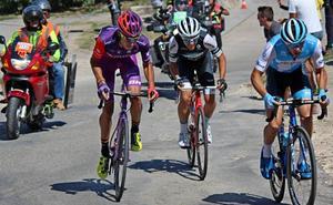 Jesús Ezquerra brilla en la jornada inaugural de la Vuelta a Burgos