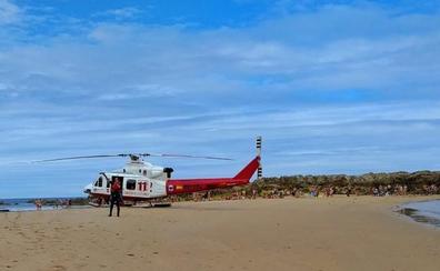 Dos personas fallecen en los arenales cántabros este miércoles