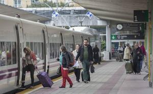 Ningún tren Alvia se verá afectado por la huelga convocada para hoy en Renfe