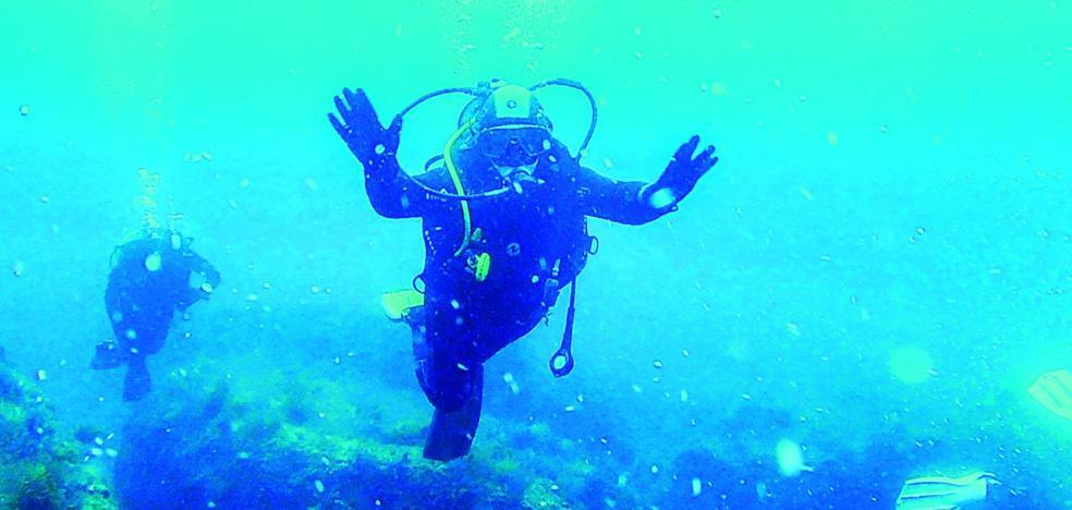 Peregrinos subacuáticos