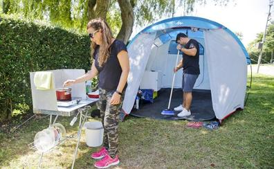 El camping se adapta a sus fieles