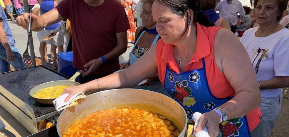 'Prates' cocina la mejor marmita pejina
