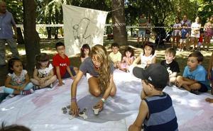 Lecciones de prehistoria en el parque