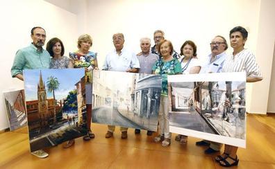 David Cuesta gana el concurso de pintura al aire libre