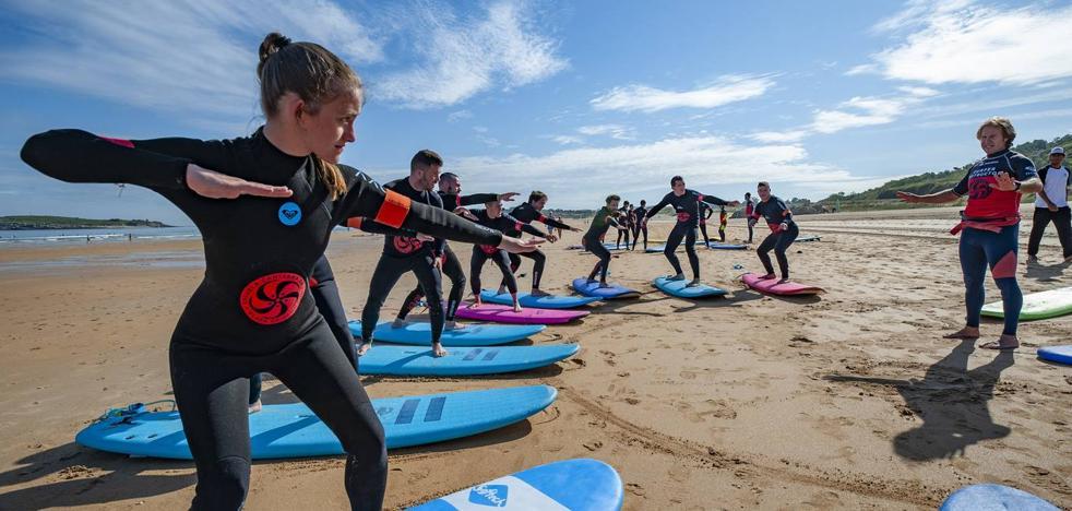 La industria del surf facturó 13,8 millones el año pasado