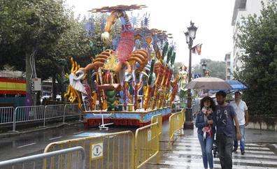Se suspende la Gala Floral por la lluvia por primera vez en la historia