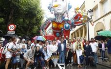 Concurso de carrozas de la Gala Floral de Torrelavega