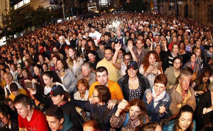 Carlos Baute cierra las fiestas de Torrelavega