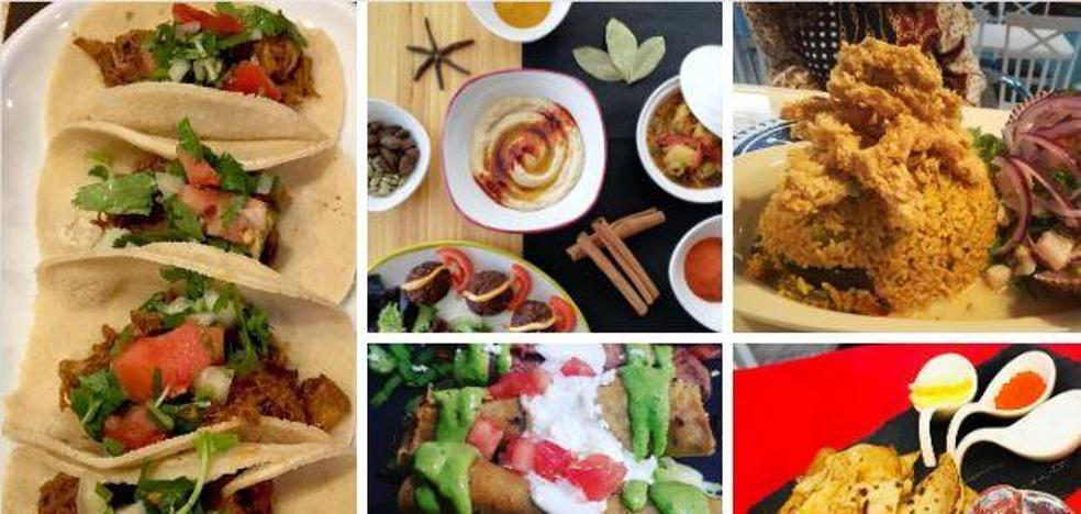 Cocinas del mundo para viajar con el paladar desde Cantabria