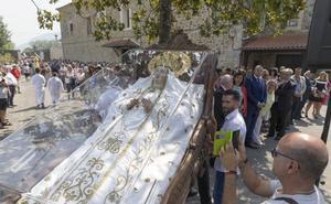 Escalante se viste de fiesta para celebrar la Virgen de la Cama