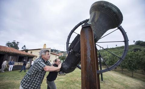 Las campanas y su lenguaje se dan cita en las fiestas de San Bartolomé