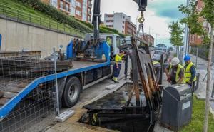 Llega a Ernest Lluch la última fase de la renovación de contenedores soterrados
