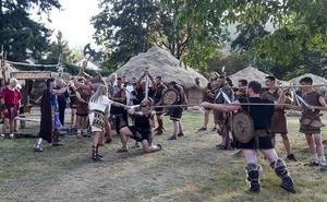 El imperio romano se hace fuerte en su campamento de Los Corrales de Buelna