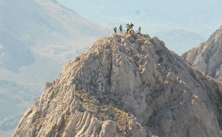 Las cumbres conquistadas por el Grupo de Montaña Orza en Las Ubiñas-La Mesa