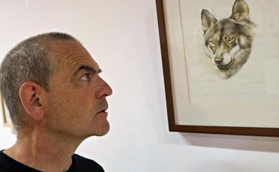 Los 'Dibujos del territorio' de Nacho Zubelzu se reúnen en 'La Escuelona' de Pejanda