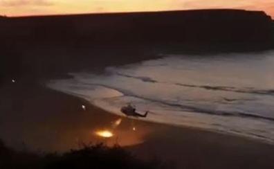 Fallece una niña de 6 años tras ser rescatada en la playa de Langre