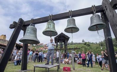 Las campanas 'hablan' en Meruelo