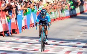 Nairo Quintana sorprende en Calpe