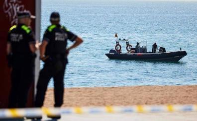 Detonada la bomba de la Guerra Civil hallada en la costa de Barcelona