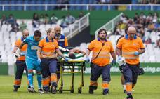 Dani Toribio, al menos seis semanas de baja por una fractura en el esternón