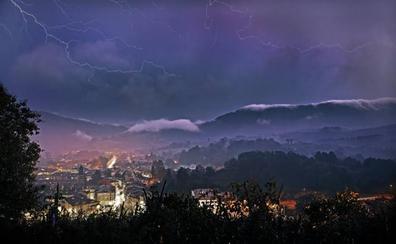 Las tormentas previstas para esta tarde ponen a Cantabria en aviso amarillo