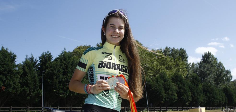 Sandra Gutiérrez, una campeona criada en el corazón de Reocín