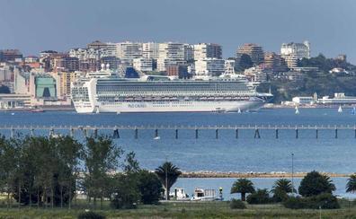 El gigante 'Ventura' vuelve a Santander