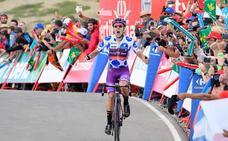 Heroica victoria del cántabro Ángel Madrazo en la 5ª etapa de La Vuelta