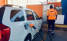 La gasolinera naranja del polígono de RAOS ya suministra GLP