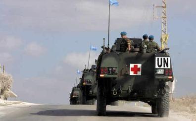 Muere un sargento español por un infarto en Líbano