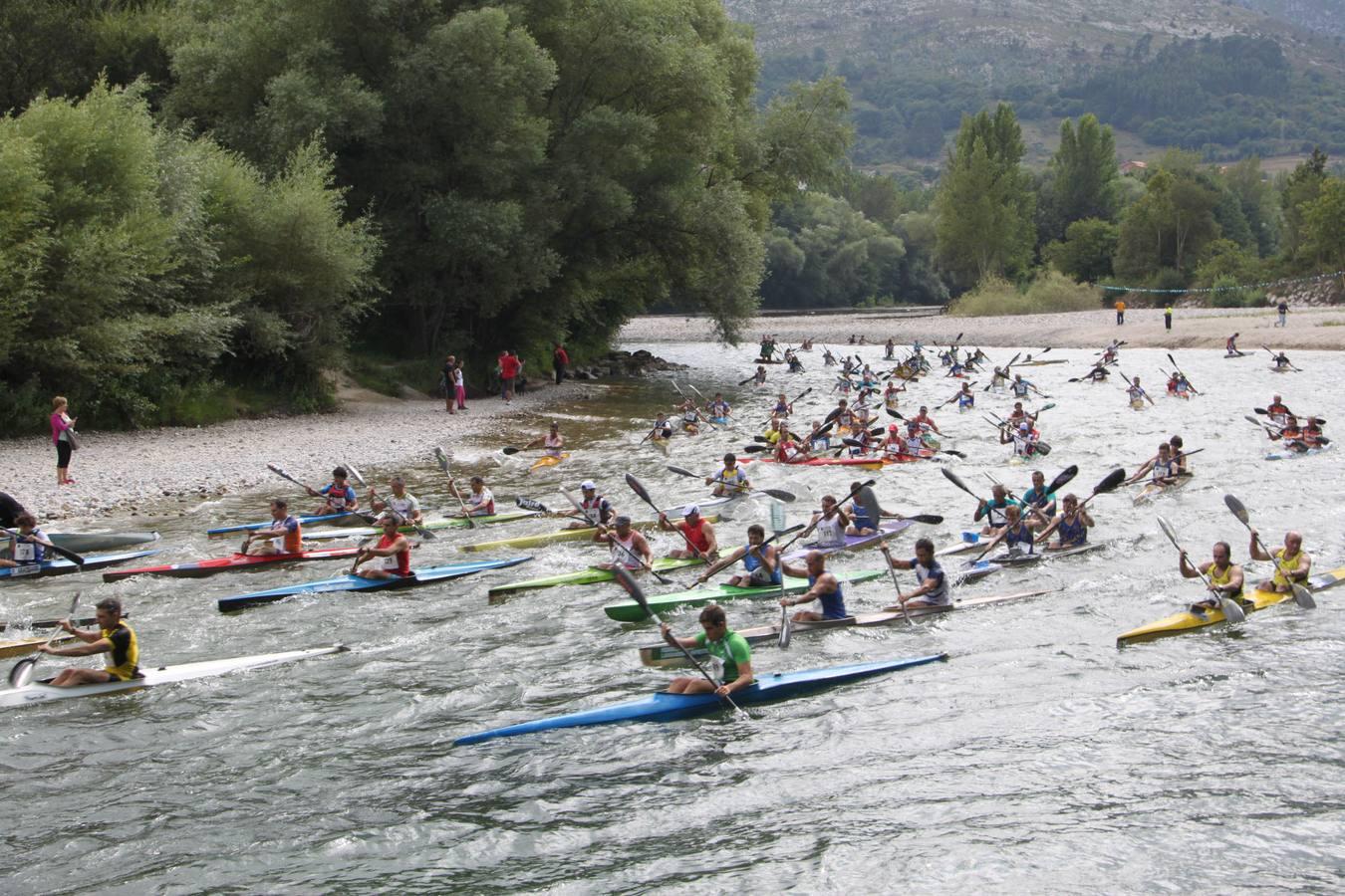 El Descenso del Deva, en Cantabria, iguala los premios en las categorías masculina y femenina