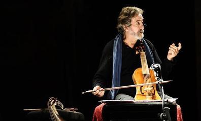 Jordi Savall invita a un viaje musical Oriente Occidente en el Centro Botín