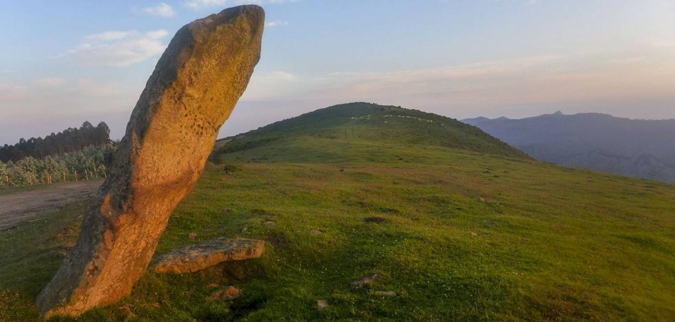Una empresa propone construir un parque eólico entre Cantabria y Vizcaya