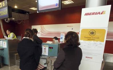 Un vuelo de ida y vuelta Madrid-Santander, cancelado por la huelga de Iberia