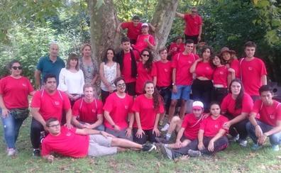 Cantabria estrena un Campo de Voluntariado Internacional en Puente Viesgo