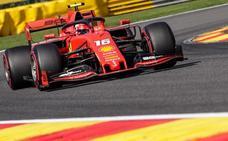 Leclerc pone en su sitio a Vettel