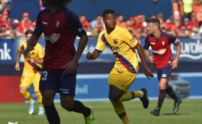 Ansu Fati alegra el mal momento del Barça