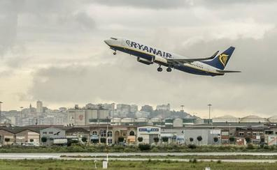 Ryanair bloquea los vuelos de Santander a Tenerife de enero a marzo