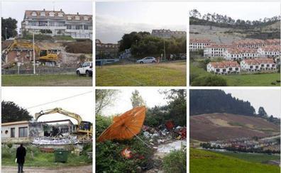 Los derribos en Cantabria, dos décadas y 257 ejecuciones después