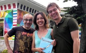 Ansola ilustra un libro que fomenta la vacunación
