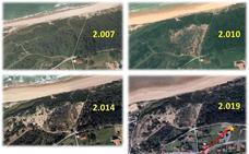 Los ecologistas rechazan la torre de telefonía en el monte Arna de Somo