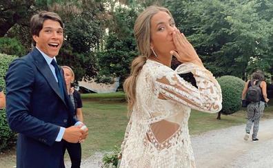 María Pombo despide el verano recordando su boda cántabra